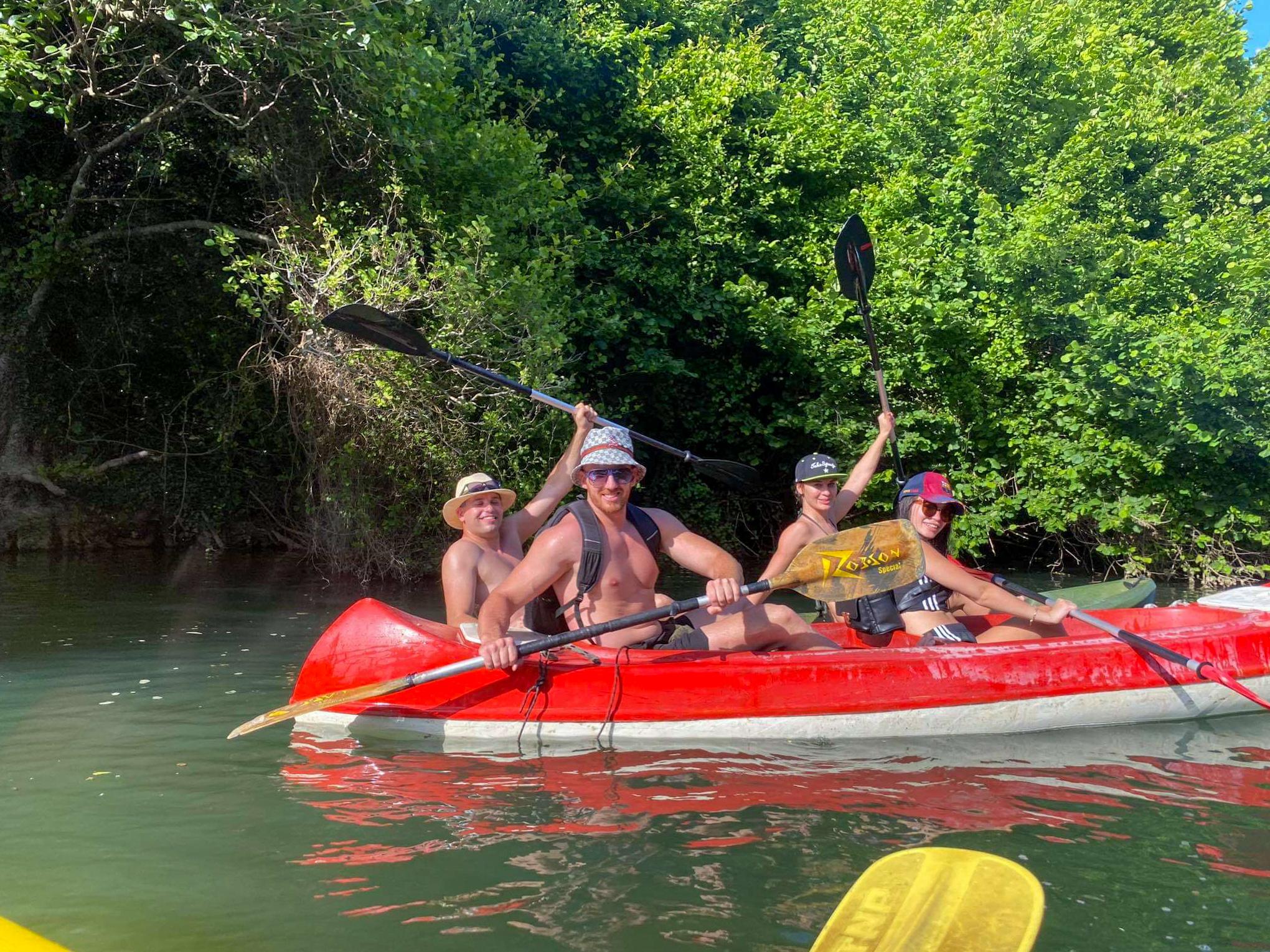 kajakami na rzece Veleka